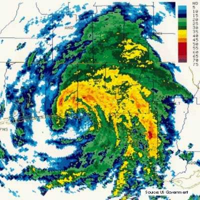 In 1994, Tropical Storm Alberto caused heavy damage to the existing Riverside water treatment plant at Macon, in Bibb County in southern Georgia, USA. This resulted in the construction of the new Frank Amerson plant.