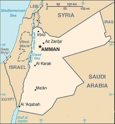 Amman has particular water supply problems. A third of the kingdom's total inhabitants live within the Greater Amman area.