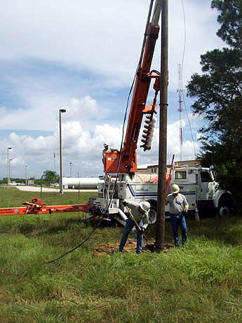Project preliminaries included an extensive programme of surveying and geo-technical investigations.