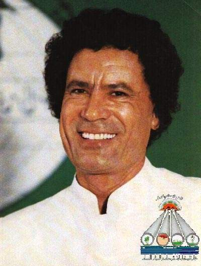 Colonel Muammar Gaddafi at the formal inauguration of Phase I of the project, in August 1991. The Libyan leader played a major role throughout the project and took a close interest in its progress, describing it as the