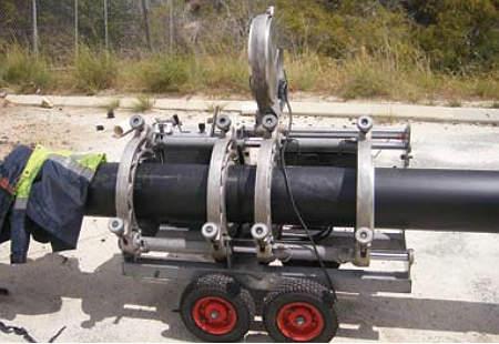 BW Plastics', installing new pipelines