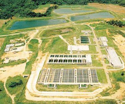 The Dr Antionio Santiago Vazquez water treatment plant in Arecibo has a treatment capacity of 380,000m³/day and supplies 1.6 million people.