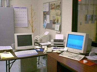 The plant's main office.
