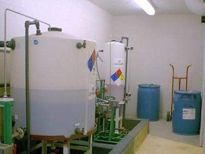 The project also required the provision of ancillary items including bulk chemical storage and laboratory facilities.