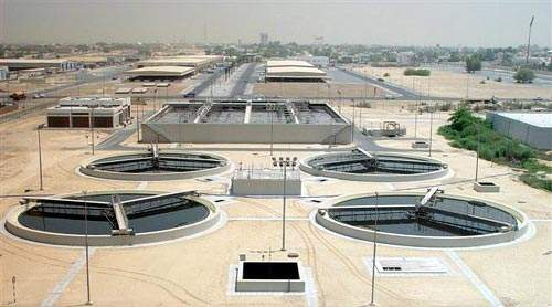 The Phase 6 extension was officially opened in June 2004. The scheme has increased the wastewater treatment works' capacity by 37,400m³/day.