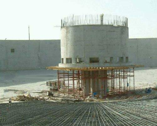 Construction of the plant began in July 2002 and was completed by November 2004. It has an initial capacity of up to 375,000m³/d and is designed to be extendable to 600,000m³/d in the future.