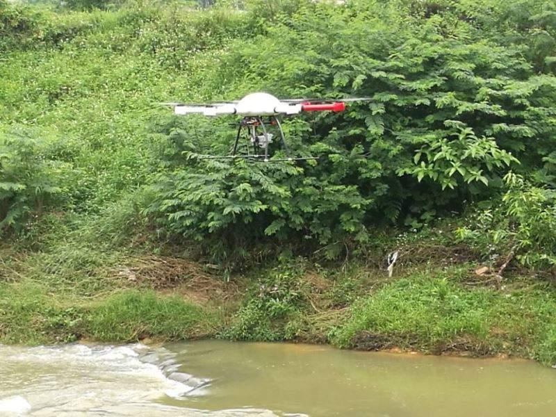 drone-mounted sensor