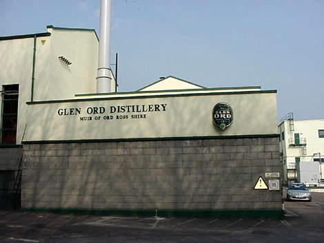 Glen Ord distillery.