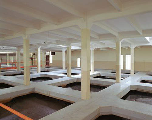 Interior design of the Columbia Heights Filtration Plant by Black & Veatch.