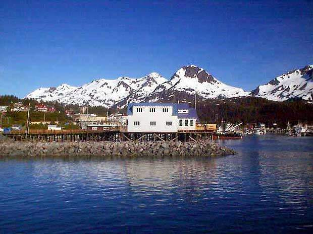 The Cordova wastewater treatment plant is located in Cordova, Alaska, on the eastern shore of Prince William Sound.