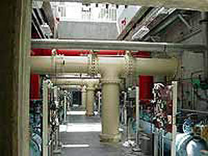 The 114,000m³/d St Joseph water treatment plant was built in 2000, to replace the City's original treatment facility which was ageing and susceptible to flooding.