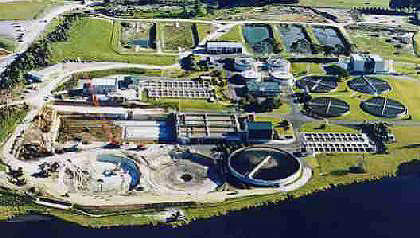 Rosedale WWTP provides primary, secondary and advanced treatment of effluent for a population of approximately 185,000.