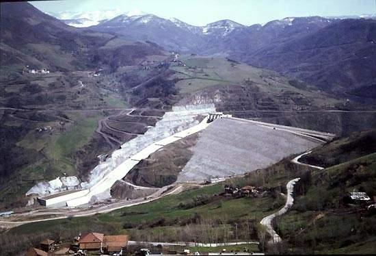 Yuvacik Dam.
