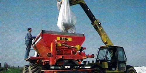 The dried fertiliser product is bagged and distributed for beneficial agricultural / land applications under the name