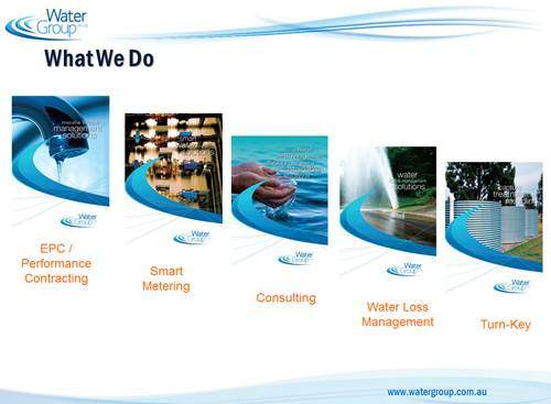 WaterGroup services