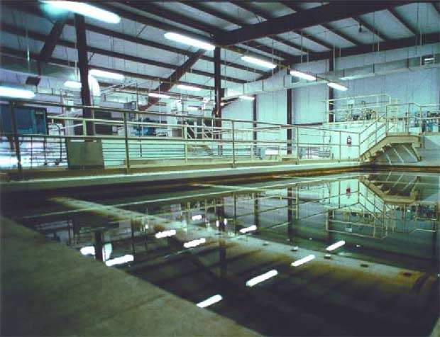 Treatment at the Cary / Apex WTP plant makes use of Super-Pulsator Flocculator Clarification technology.