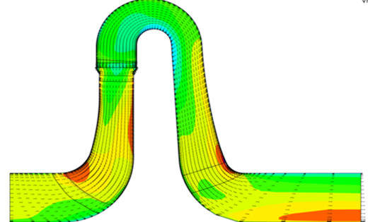 cfd pump channel geometries