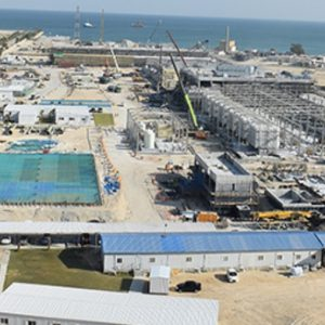 Acciona announces first production of water at Al-Khobar 1 desalination plant in Saudi Arabia