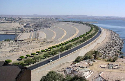 Aswan High Dam, River Nile, Sudan, Egypt