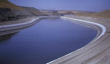 Intertie is a pipeline connection between the Delta-Mendota Canal (DMC) and California Aqueduct (CA)