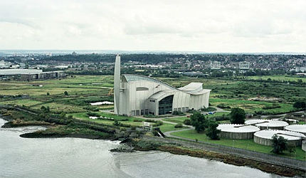 The sewage treatment works improvement project was started in summer 2010