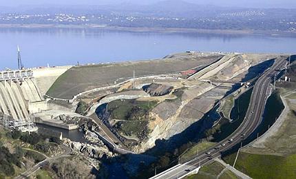 Californian dam