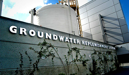 Groundwater Replenishment System (GWRS), Orange County, California, US