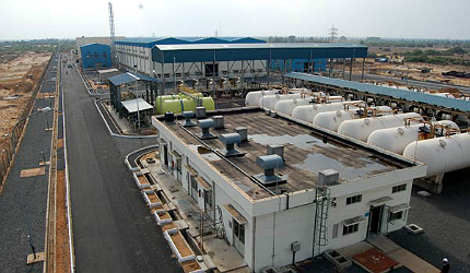 The INR5.15bn (€91m) Minjur desalination plant has a capacity of 100,000m³/day (100mld)