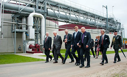 The construction of the Epe plant was completed at the end of 2011