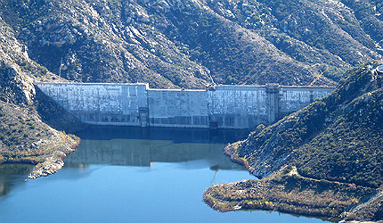 It is the highest dam raise project undertaken in the United States