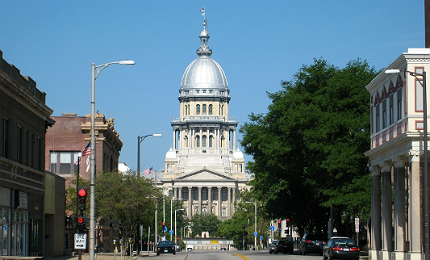 Springfield in Illinois, US