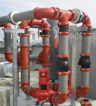 Victaulic is a developer of mechanical pipe joining systems