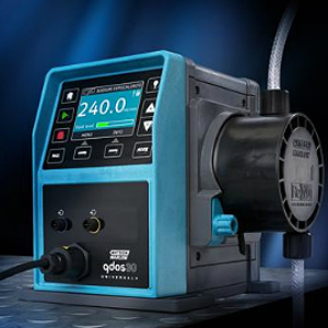 Qdos 30 pumps boost process efficiency by providing accurate, linear and repeatable flow performance