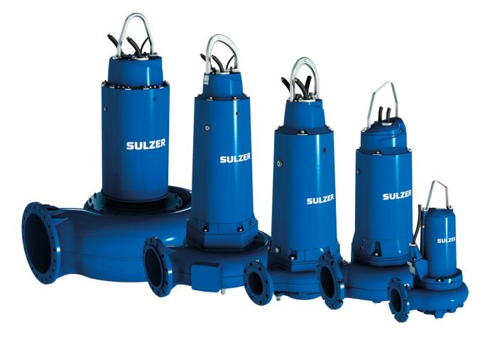 Submersible sewage pumps type ABS XFP PE2-PE6