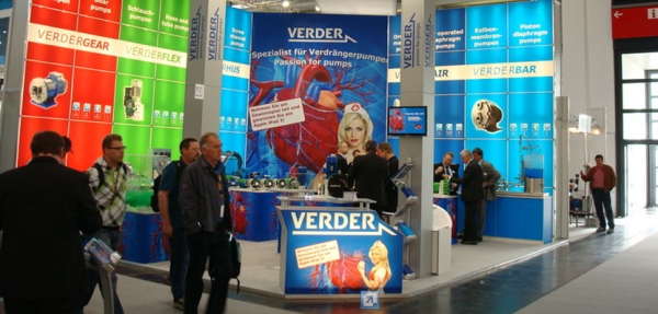 Verder's stand at IFAT 2012.