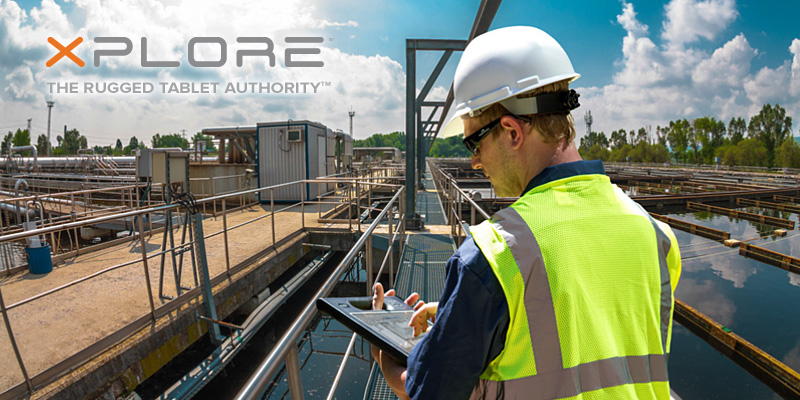 xplore tablets for water facilities