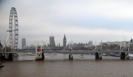 Thames and London Eye