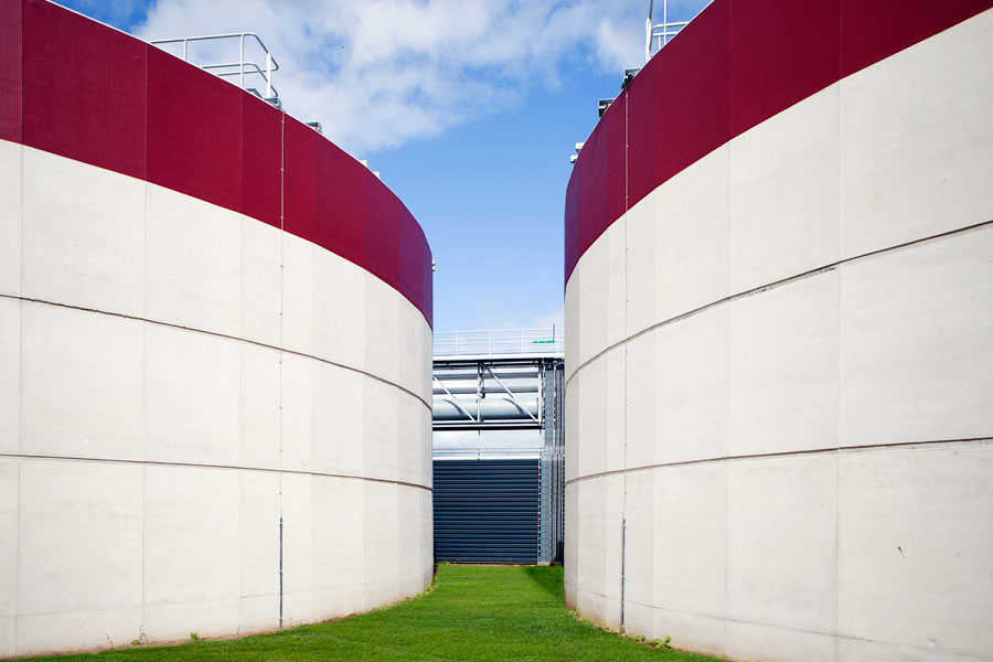 Epe wastewater treatment plant in The Netherlands