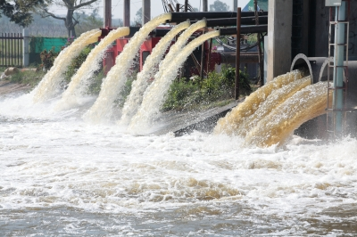 Image result for factory waste in water