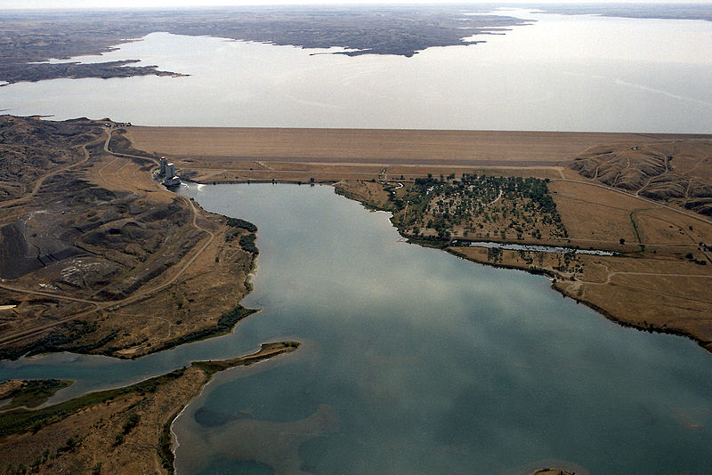 The Fort Peck Dam is located in northeast Montana in the US