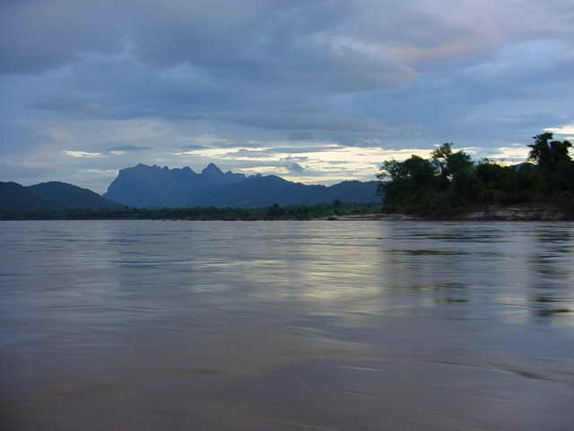Laos is constructing a hydroelectric dam on the lower Mekong River to generate and sell electricity to its neighbouring countries.