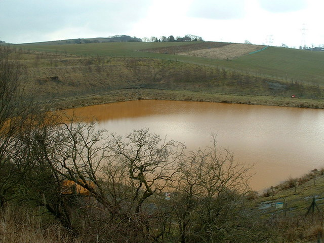 mine water reclamation site