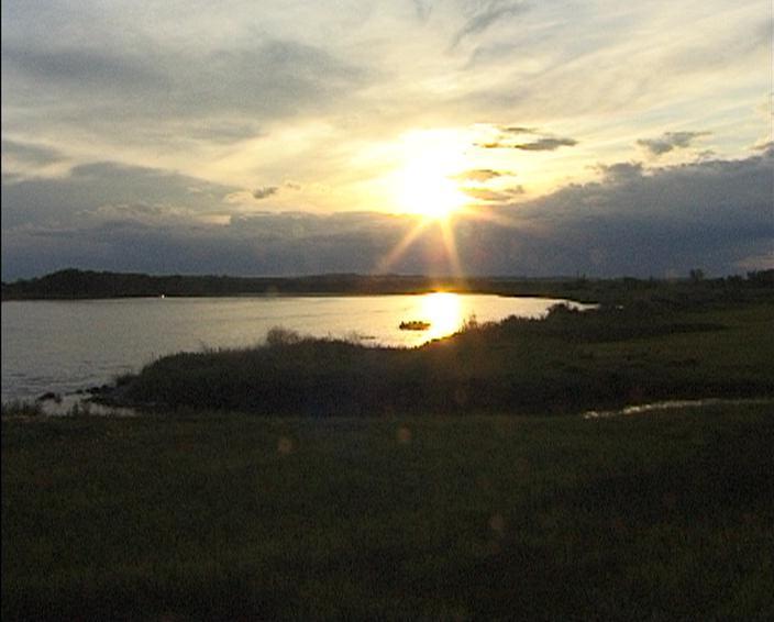 Missouri River in North Dakota