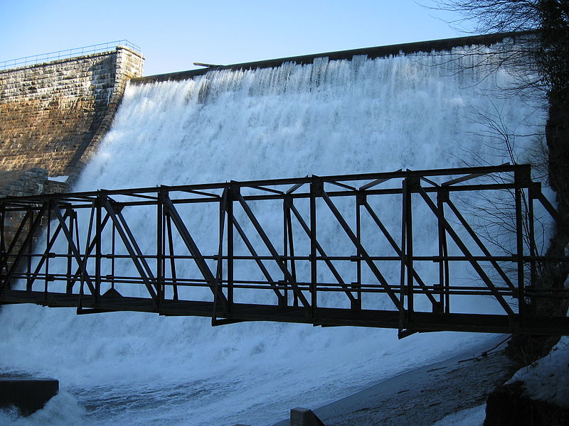 Pennsylvania American Water has increased the spillway capacity of the Nesbitt Dam and Reservoir as per the standards of DEP
