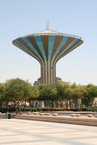 Riyadh water tank