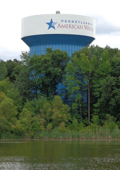 Big Oakl water storage tank