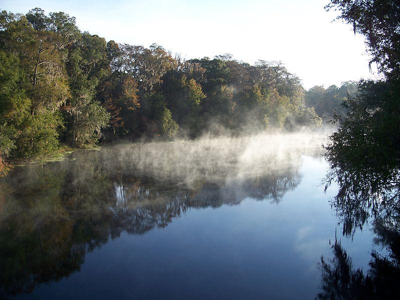 The FDEP determined restoration of the Santa Fe River using biological indicators.