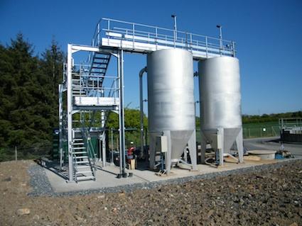 Ashgill waste water treatment works