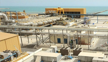 Ras Abu Fontas (RAF) A2 Seawater Desalination Plant is located at Ras Abu Fontas, about 10km south of Doha.